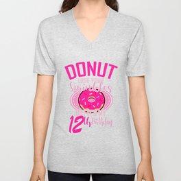 Donut Lose Your Sprinkles 12th Birthday Gift Idea Unisex V-Neck