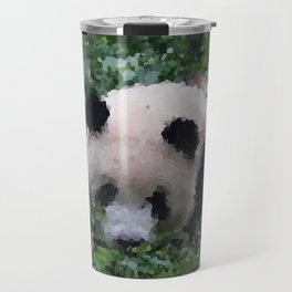 Poly Animals - Panda Travel Mug