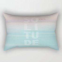 Solitude Calm Waters Rectangular Pillow