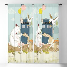 Doctor Bear and his Companions Blackout Curtain