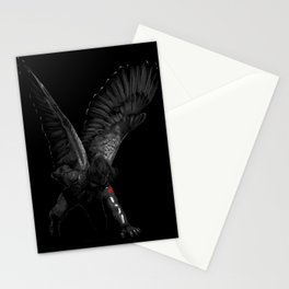 winged winter soldier Stationery Cards