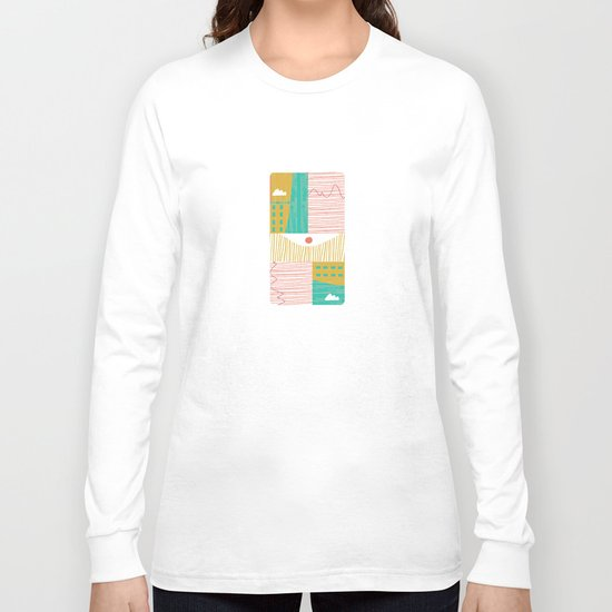 Eye On The City Long Sleeve T-shirt
