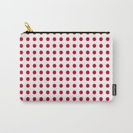 Abstract from the flag of japan – japanese,red,sun,asia,nippon,tokyo,edo,osaka,nagoya,ikebana,noh. Carry-All Pouch