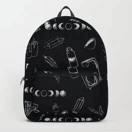 Witchy Stuff Black Backpack