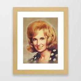 Tammy Wynette, Music Legend Framed Art Print