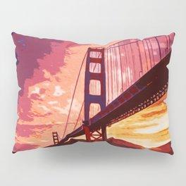 Golden Gate Bridge - San Francisco Pillow Sham