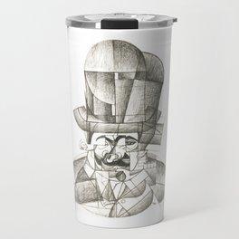 Juan Gris Man with Opera Hat 1912 Artwork for Prints, Tshirts, Posters Men Women Kids Travel Mug