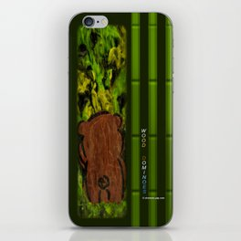 Wood Dominoes - Prehistoric #2 iPhone Skin