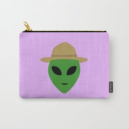 Alien with park ranger hat Carry-All Pouch