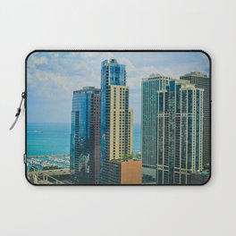 Summer in Chicago Laptop Sleeve