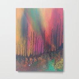 incendiu Metal Print