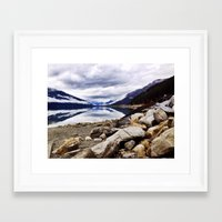 canada Framed Art Prints featuring Canada by amberino