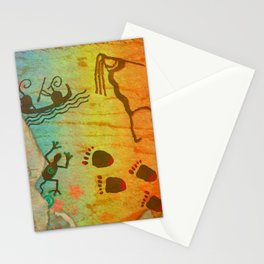 Cave Dwelling Native American Stationery Cards