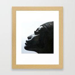Black Woman Framed Art Print