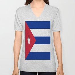 Flag of Cuba ★ Unisex V-Neck