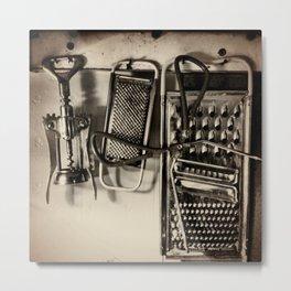 Utencils Metal Print
