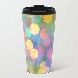 Rainbow Bokeh I Travel Mug