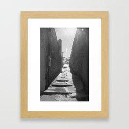 Alley Framed Art Print