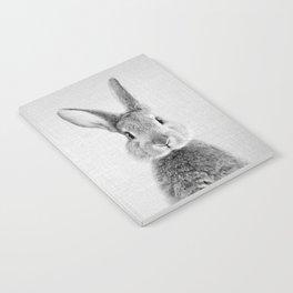Rabbit - Black & White Notebook