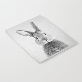 Rabbit - Black & White Notebook