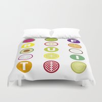 fruit Duvet Covers featuring Fruit by veronica's site