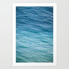 Sea 6415 Art Print
