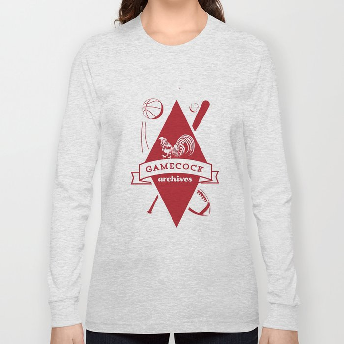 Gamecock Archives Primary Logo Long Sleeve T-shirt