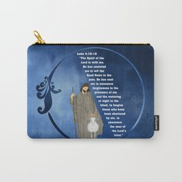 Jesus of Nazareth the Good Shepherd Carry-All Pouch