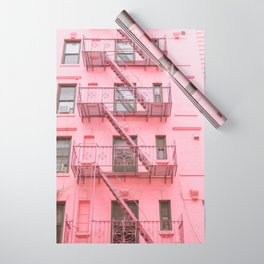 Pink Soho NYC Wrapping Paper