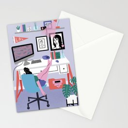 Workspace Nap Stationery Cards