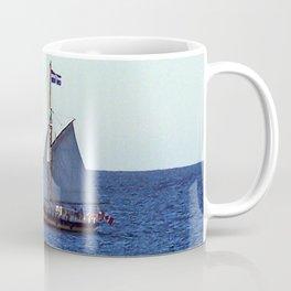 Quebec Sailboat Coffee Mug