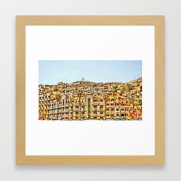AMMAN CITY Framed Art Print