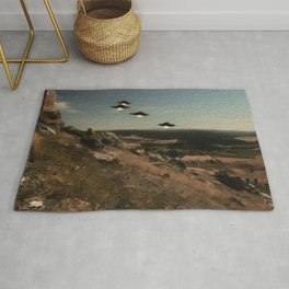 The First Wave - UFO Rug