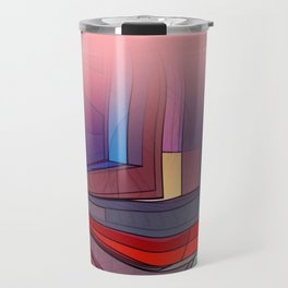 colormix -3- curtain and more Travel Mug