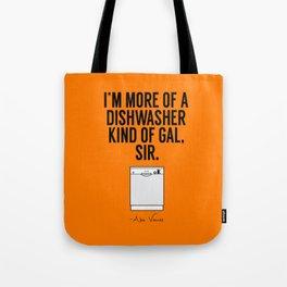 A Dishwasher Kind of Gal (3) Tote Bag