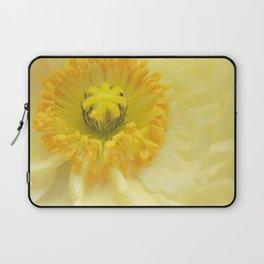 Icelandic Poppy Sweetness Laptop Sleeve