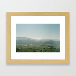 Mt. Baker Framed Art Print