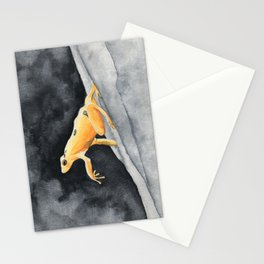 Golden frog Stationery Cards