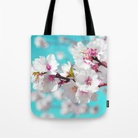 once upon a  time Tote Bags featuring Once Upon a Time... by Lisa Argyropoulos