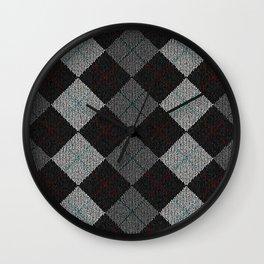 Golf Grey Wall Clock