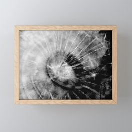 Pusteblume_abstrakt Framed Mini Art Print