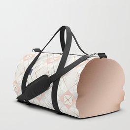 Copper & Marble & Pastel 05 Duffle Bag