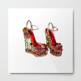 Beautiful shoes! Metal Print