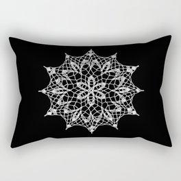 Cosmos Doily Rectangular Pillow