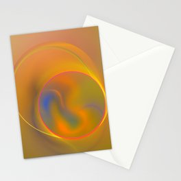 Magical yellow Stationery Cards