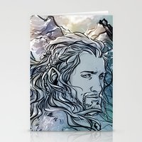 fili Stationery Cards featuring The Hobbit - Fili by lorna-ka