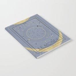 The World or Le Monde Tarot Notebook
