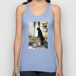 Out of the window Unisex Tank Top
