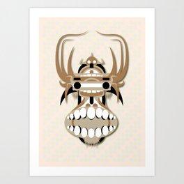 Hung Head Art Print