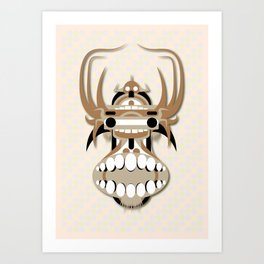 Hung Head Art Print